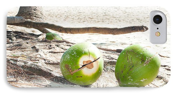 Fallen Coconuts IPhone Case