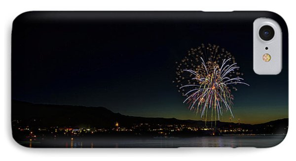 Fireworks On The River IPhone Case