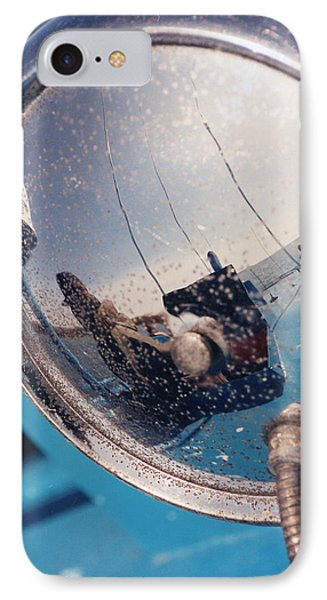 Fishing Boat Reflection IPhone Case