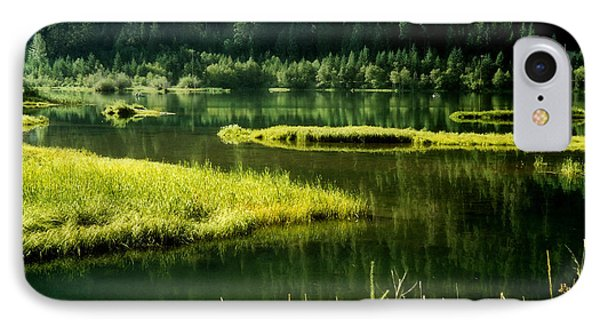 Fishing The Still Water IPhone Case