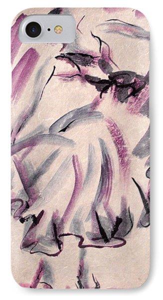 Flamenco Dancer 12 IPhone Case