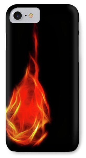 Flaming Tear IPhone Case