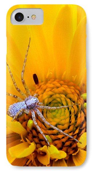 Floral Spider IPhone Case
