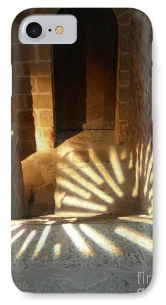 Follow The Light-stairs IPhone Case