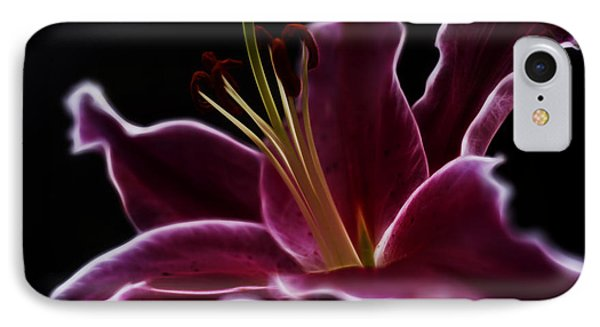 Fractal Lily Petals IPhone Case