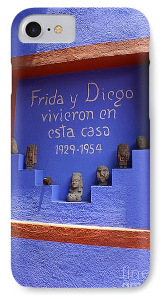 Frida Kahlo Museum Mexico City IPhone Case