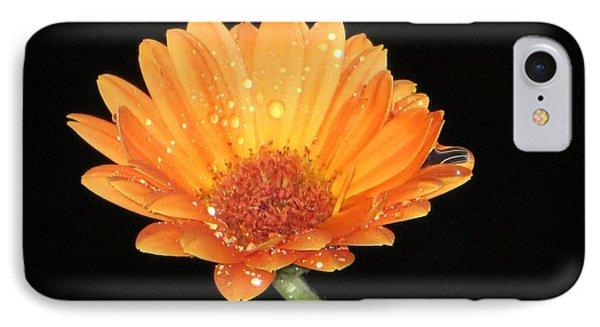 Golden Droplets IPhone Case