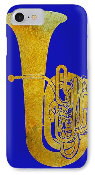 Golden Tuba IPhone Case