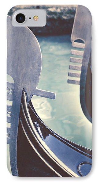 Boat iPhone 8 Case - gondolas - Venice by Joana Kruse
