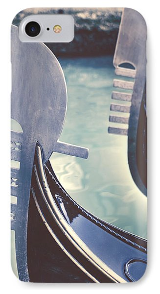Transportation iPhone 8 Case - gondolas - Venice by Joana Kruse