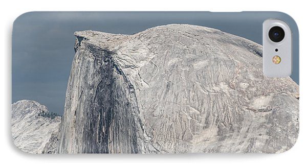 Half Dome From Glacier Point At Yosemite Np IPhone Case