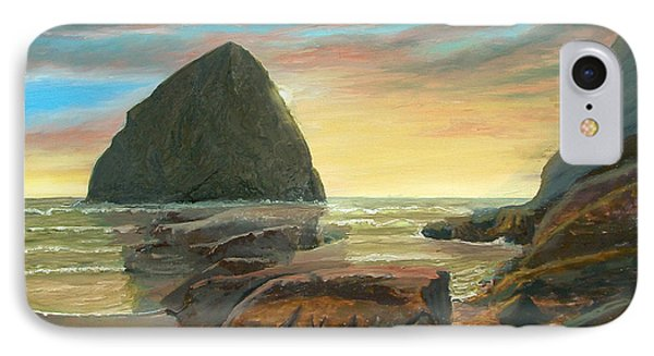 Haystack Kiwanda Sunset IPhone Case