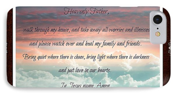 Heavenly Father Prayer IPhone Case