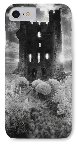Dungeon iPhone 8 Case - Helmsley Castle by Simon Marsden