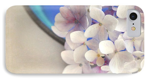 Hydrangeas In Blue Bowl IPhone Case