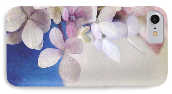 Hydrangeas In Deep Blue Vase IPhone Case