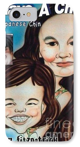 I Have A Chin  A Japanese Chin Book IPhone Case