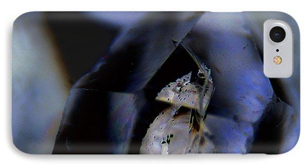 Indigo Quartz Crystal IPhone Case