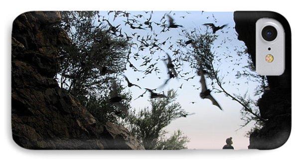 Inside The Bat Cave IPhone Case