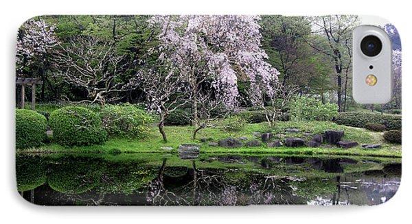 Japan's Imperial Garden IPhone Case