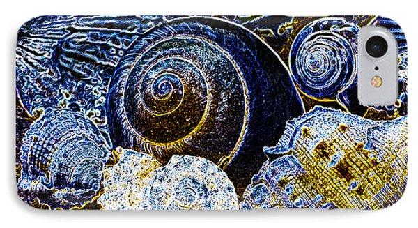 Abstract Seashell Art IPhone Case