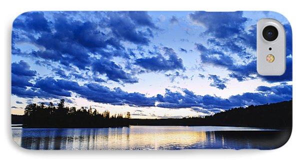 Beautiful Nature iPhone 8 Case - Just Before Nightfall by Elena Elisseeva