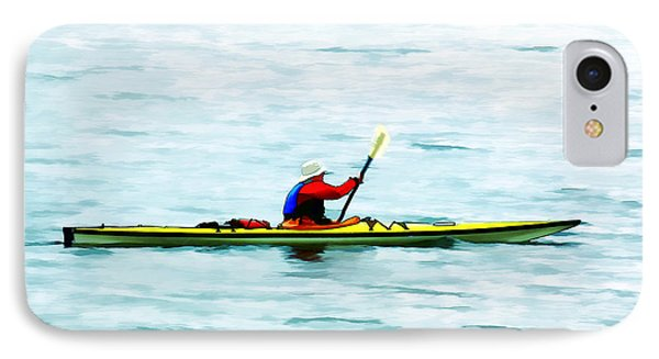 Kayak Out On The Bay IPhone Case