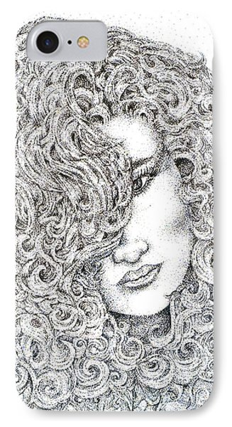 Curls IPhone Case