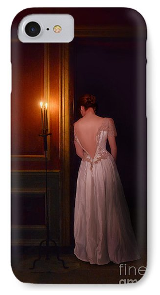 Lady In Candle Light IPhone Case