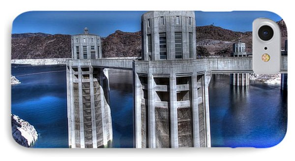 Lake Mead Hoover Dam IPhone Case