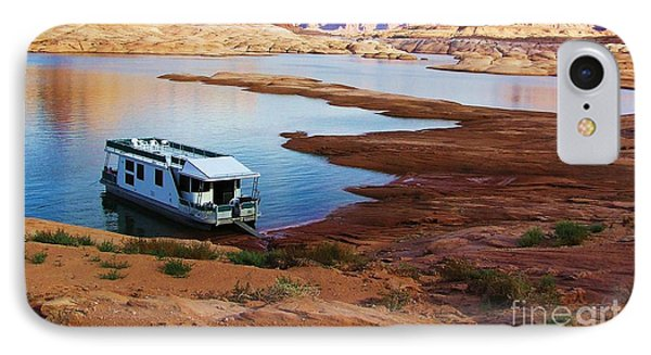 Lake Powell Houseboat IPhone Case