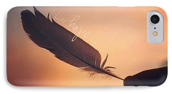 ✨•let Hope Live•✨ ... I Love IPhone Case