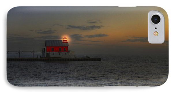 Light At Dusk IPhone Case