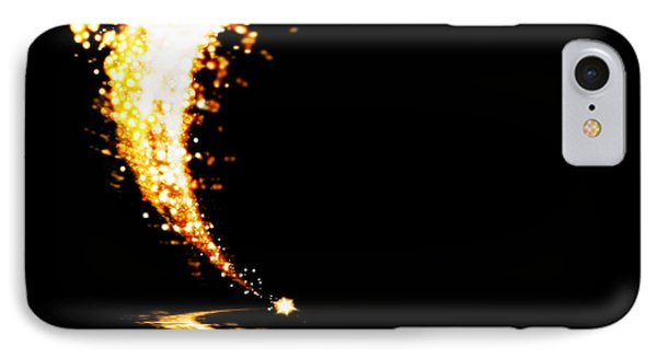 Fluorescence iPhone 8 Case - Lighting Explosion by Setsiri Silapasuwanchai