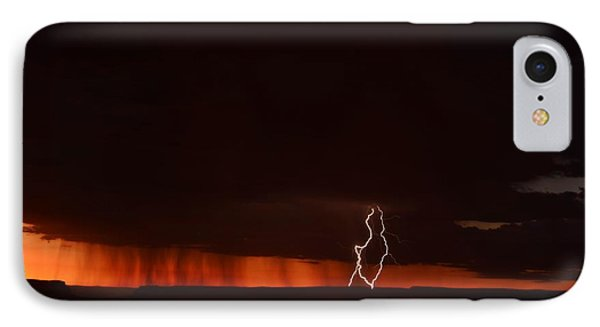 Lightning At The Grand Canyon IPhone Case