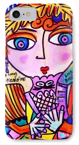Lily Bart IPhone Case