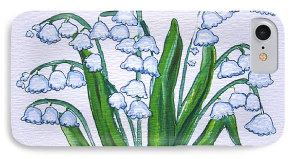 Lily-of-the-valley In Full Glory IPhone Case