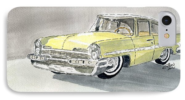 Lincoln Capri 1957 IPhone Case