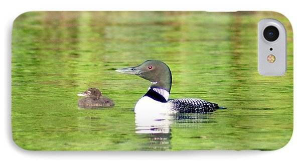 Loons Big And Small IPhone Case