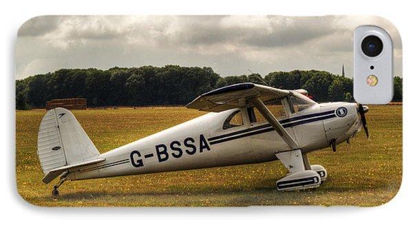 Luscombe 8e Deluxe 2 Seater Plane IPhone Case