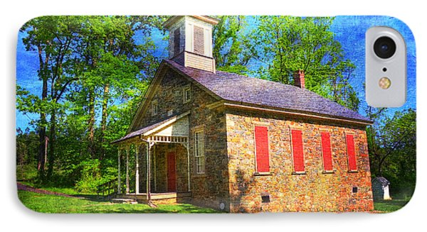 Lutz-franklin Schoolhouse IPhone Case