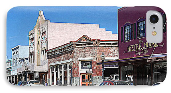 Main Street In Silver City Nm IPhone Case