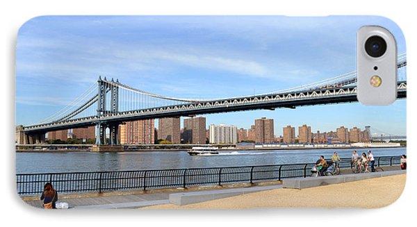 Manhattan Bridge1 IPhone Case