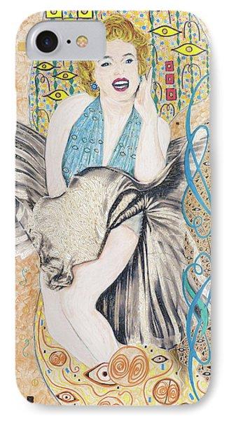 Marilyn After Klimt IPhone Case