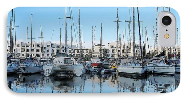 Marina At Port El Kantaoui Sousse Tunisia IPhone Case