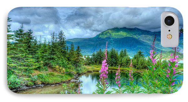 Mendenhall Fireweed IPhone Case