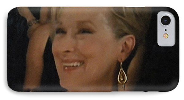 Meryl Streep Portrait  IPhone Case