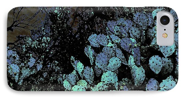 Mesquite And Prickly Pear On Ridge IPhone Case