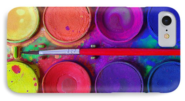 Messy Paints IPhone Case