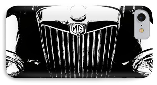 Mg Grill Black And White IPhone Case